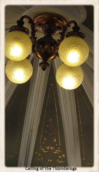 Ceiling of Ticonderoga