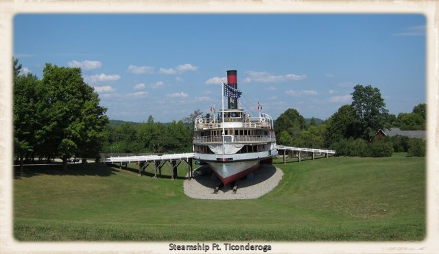 Ft. Ticonderoga steamship