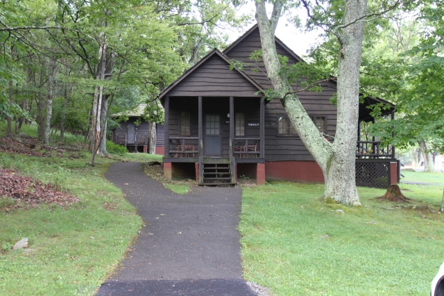 Jim's picture of cabin at Skyland