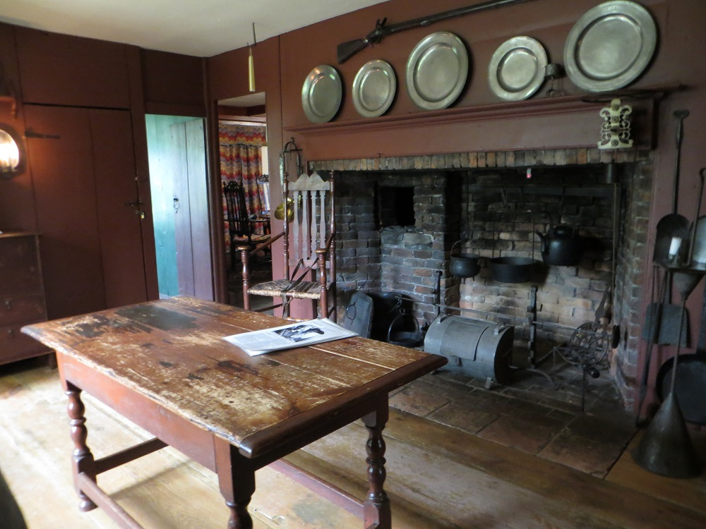 Purposeful wrongness at the shelburne museum for 18th century farmhouse interiors