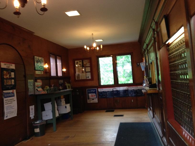 The Deerfield Post Office Thehistorytourist