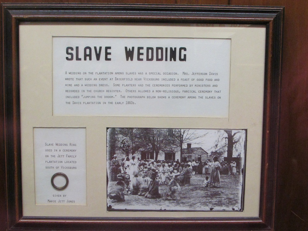 Its A Little Hard To Read At Least My Aging Eyes The Slave Wedding Write Up So Ill Tell You That It Starts Among Slaves On Plantation