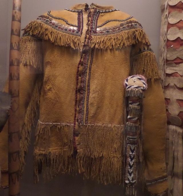 White Mountain Apache Buckskin Shirt c1850